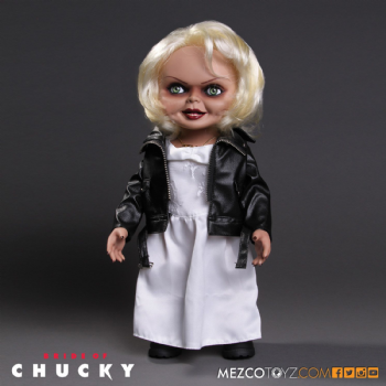 TIFFANY 15 INCH TALKING BRIDE OF CHUCKY FIGURE UK EXCLUSIVE